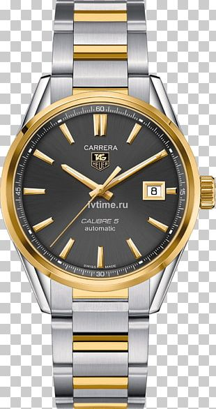 TAG Heuer Carrera Calibre 5 Automatic Watch Chronograph PNG
