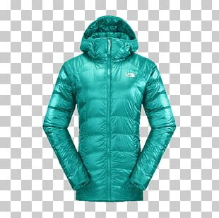 Hoodie The North Face Down Feather Clothing Outerwear PNG