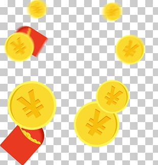 Red Envelope Gold Coin Computer Software PNG