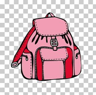 Backpack Coloring Book Bag Drawing PNG