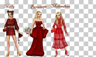Costume Design Barbie Gown PNG