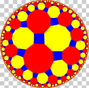 Tessellation Geometry Truncated Square Tiling Uniform Tilings In Hyperbolic Plane Euclidean Tilings By Convex Regular Polygons PNG