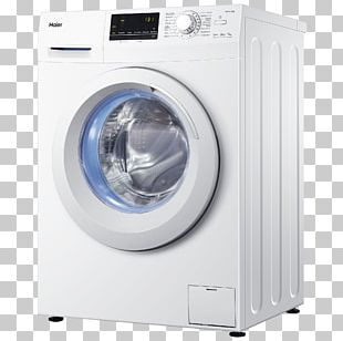 Washing Machines Home Appliance Laundry Clothes Dryer Haier PNG