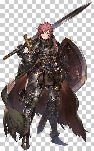 Knight Anime Female Erza Scarlet Character PNG