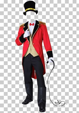 Ringmaster Halloween Costume Clothing Jacket PNG