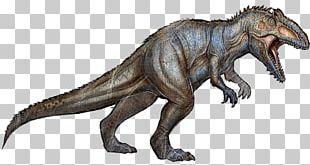 Giganotosaurus ARK: Survival Evolved Spinosaurus Tyrannosaurus Allosaurus PNG