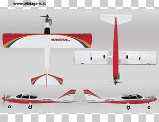 Airplane Great Planes Avistar Elite Radio Control Radio-controlled Aircraft Model Aircraft PNG