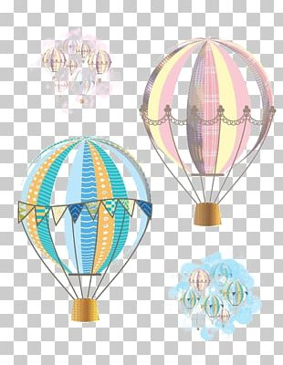 Hot Air Balloon Flight Airplane PNG