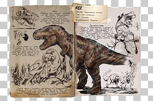 ARK: Survival Evolved Tyrannosaurus Mosasaurus Spinosaurus Dinosaur PNG