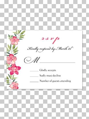 Wedding Invitation Flower Floral Design Petal PNG