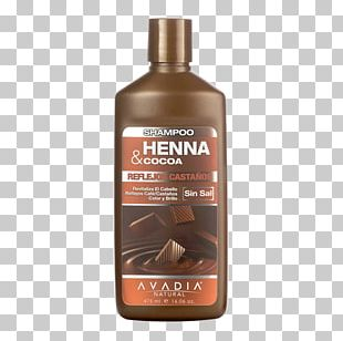 Shampoo Hair Henna Chocolate Color PNG