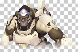 Characters Of Overwatch Winston Video Game PNG