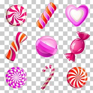 Lollipop Candy Cane Cotton Candy Cupcake PNG