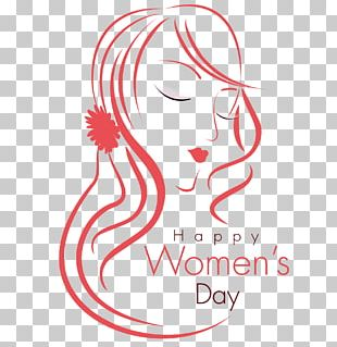 International Womens Day Woman Happiness March 8 Illustration PNG
