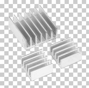 Heat Sink Raspberry Pi 3 Computer System Cooling Parts PNG