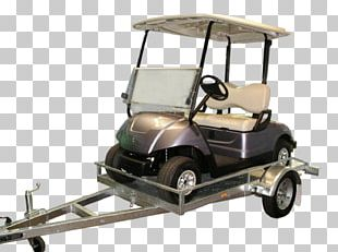 Car Golf Buggies Wheel Trailer PNG