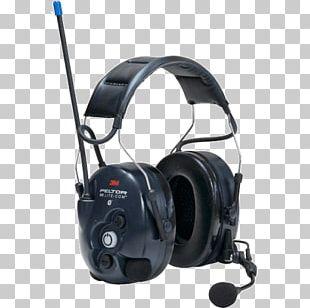 Earmuffs Protective Ear Caps Headset DB 3M Peltor LiteCom Gehoorbescherming Personal Protective Equipment PNG