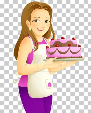 Pastry Chef Cake PNG
