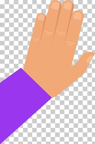 Thumb Hand Model Glove Product Design PNG