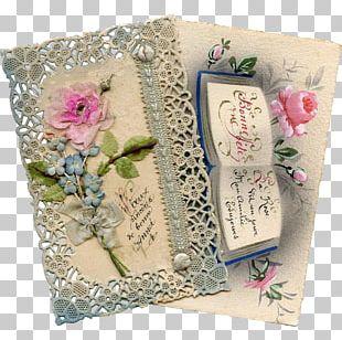Paper Flower Post Cards Floral Design Textile PNG