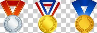 Gold Medal Trophy Award PNG