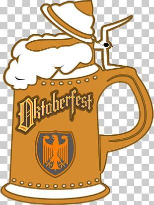 German Cuisine Beer Stein Oktoberfest PNG