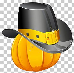 Thanksgiving Pilgrim's Hat PNG