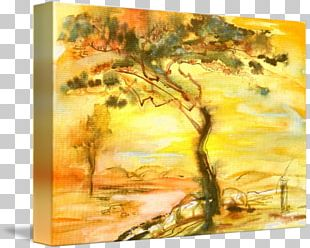 Watercolor Painting Acrylic Paint Modern Art PNG