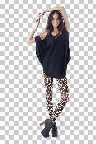 Giraffe Leggings Clothing Dress Sleeve PNG