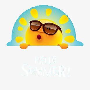 Summer Sun PNG