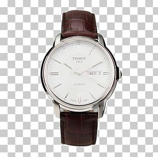 Watch Strap Leather Chronograph Tissot PNG