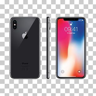 IPhone X Apple IPhone 8 Plus Space Grey Telephone PNG