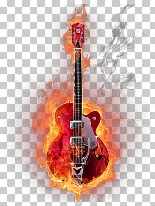 Guitar Musical Instrument Graphic Design PNG