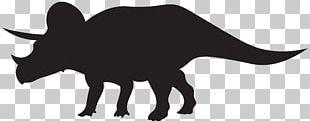 Triceratops Spinosaurus Dinosaur Tyrannosaurus Silhouette PNG