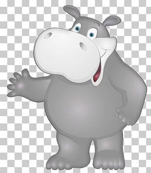 Hippopotamus Kinder Happy Hippo PNG
