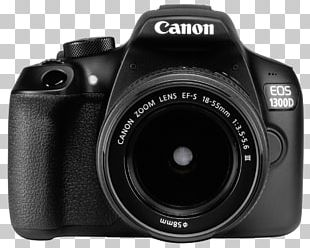 Canon EOS 1300D Canon EF-S 18–55mm Lens Canon EF-S Lens Mount Canon EF-S 55–250mm Lens Camera PNG