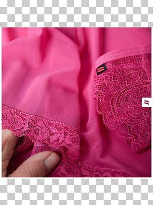 Lace Pink M Silk Satin Shoulder PNG