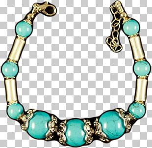 Turquoise Necklace Bead Bracelet Jewellery PNG