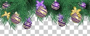 Christmas Ornament Purple PNG