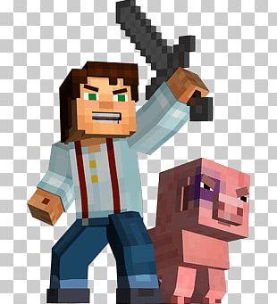 Man Pig Minecraft PNG