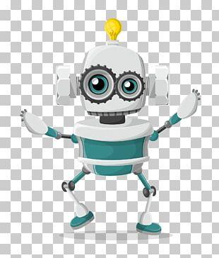 Robotics Character PNG