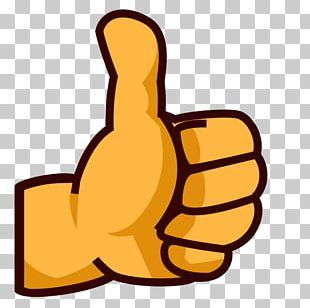 Thumb Signal Emoji Human Skin Color PNG