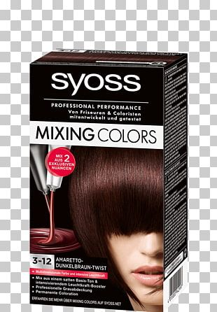 Hair Coloring Human Hair Color Brown PNG