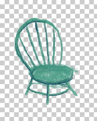 Furniture Chair Turquoise Teal PNG