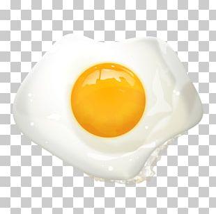Fried Egg Breakfast Yolk PNG