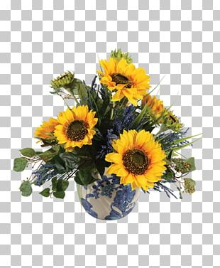 Common Sunflower Floral Design Cut Flowers Transvaal Daisy PNG