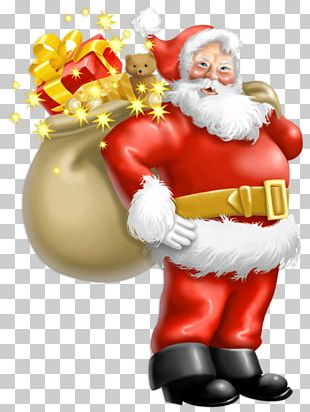 Santa Claus Father Christmas PNG