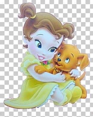 Belle Beast Ariel Princess Jasmine Rapunzel PNG