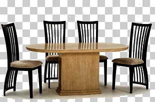 Dining Room Table Furniture Matbord Chair PNG