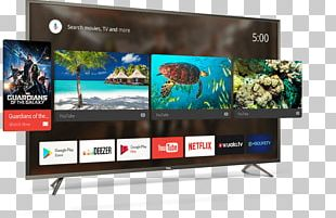 TCL Corporation LED-backlit LCD 4K Resolution Android TV PNG